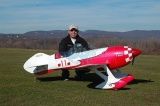 CY-MODEL  Gee Bee V2 ARF 2800 mm (100-150 ccm) RED/WHITE CP